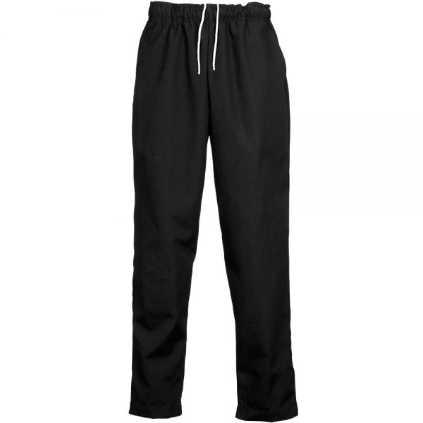 Reed Manufacturing Black Baggy Chef Pants