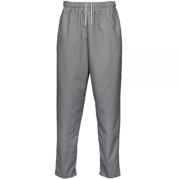Reed Manufacturing Check Baggy Chef Pants