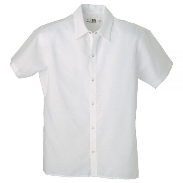 cook shirt with no pocket