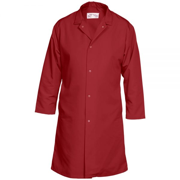 Reed Food Service Coat Red