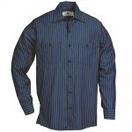 Grey/Blue Stripe Long Sleeve