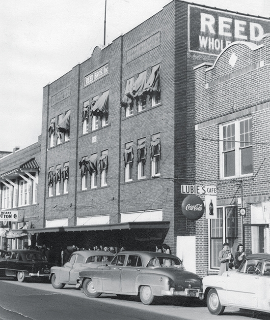reed manufacturing first factory