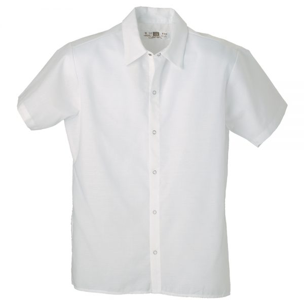 cook shirt with no pocket