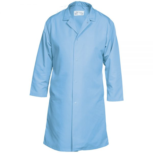 Reed Food Service Coat Light Blue