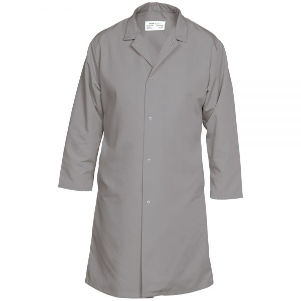 Reed Food Service Coat Light Grey